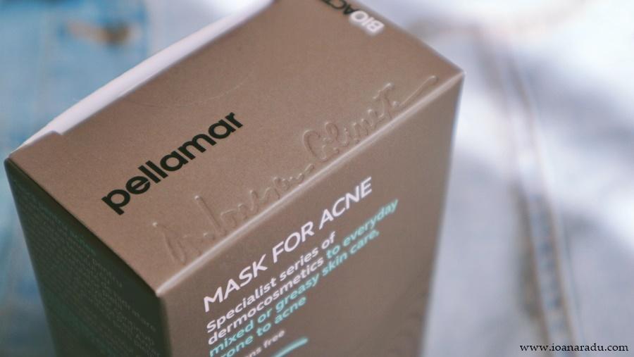 Mască tratament pentru acnee PellAmar Cosmetics