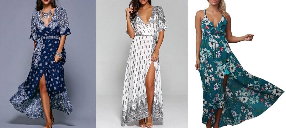 rochii imprimeu anii 70