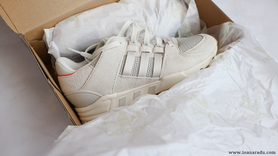Adidas Originals EQT Support RF all white