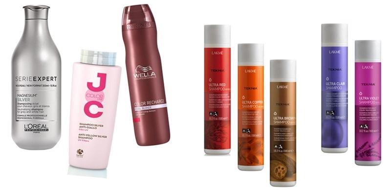 șampon colorant pentru păr