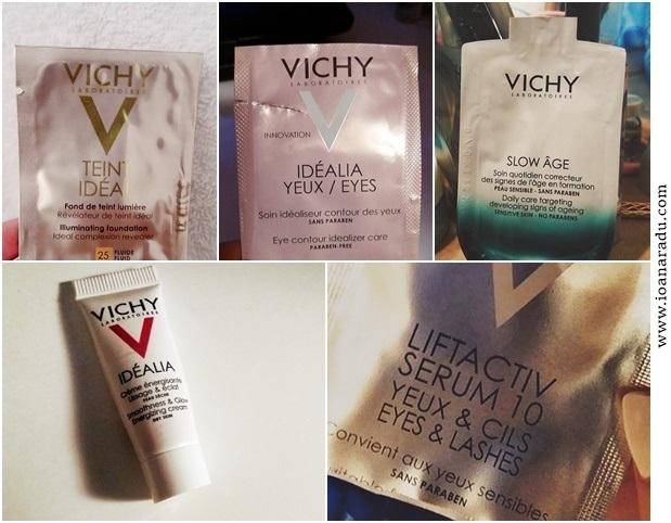 mostre produse Vichy