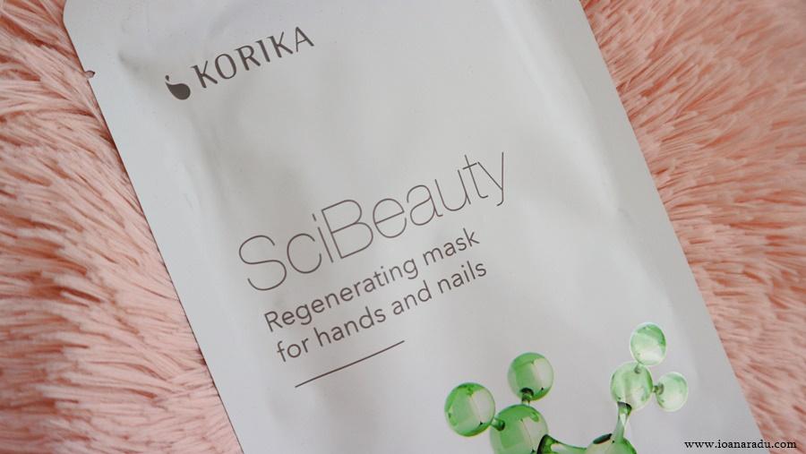 Masca regeneratoare pentru mâini și unghii Korika SciBeauty pareri