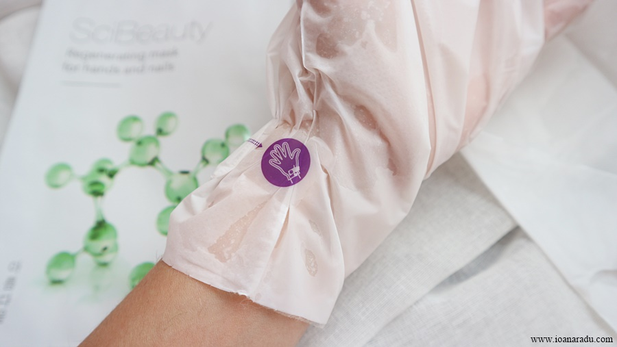Masca regeneratoare pentru mâini și unghii Korika SciBeauty