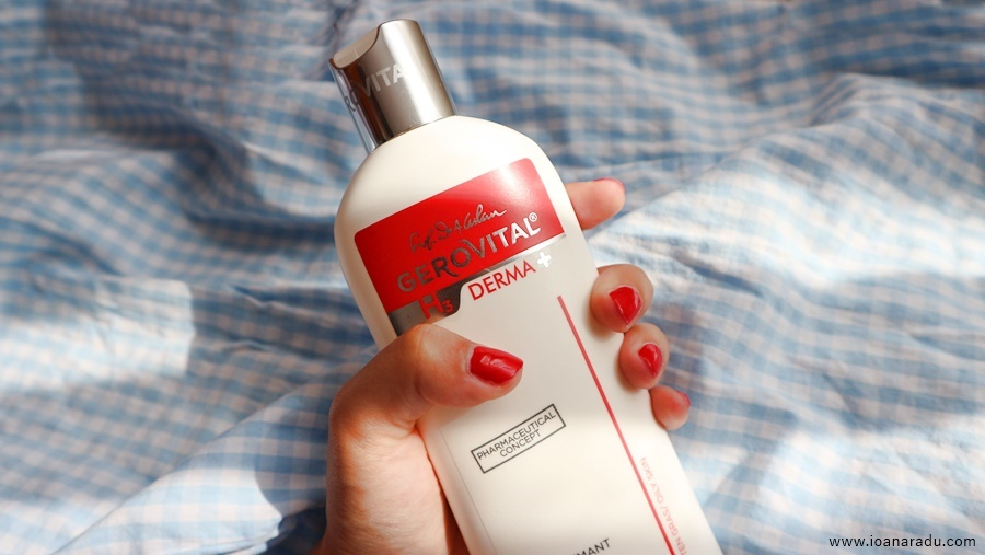Review: gel spumant purifiant Gerovital H3 Derma+