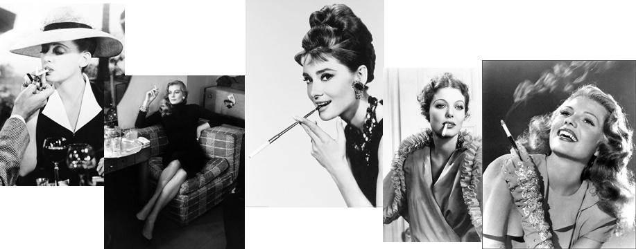 femeile si tutunul