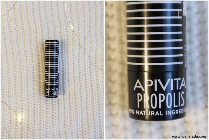 balsam de buze Apivita cu propolis