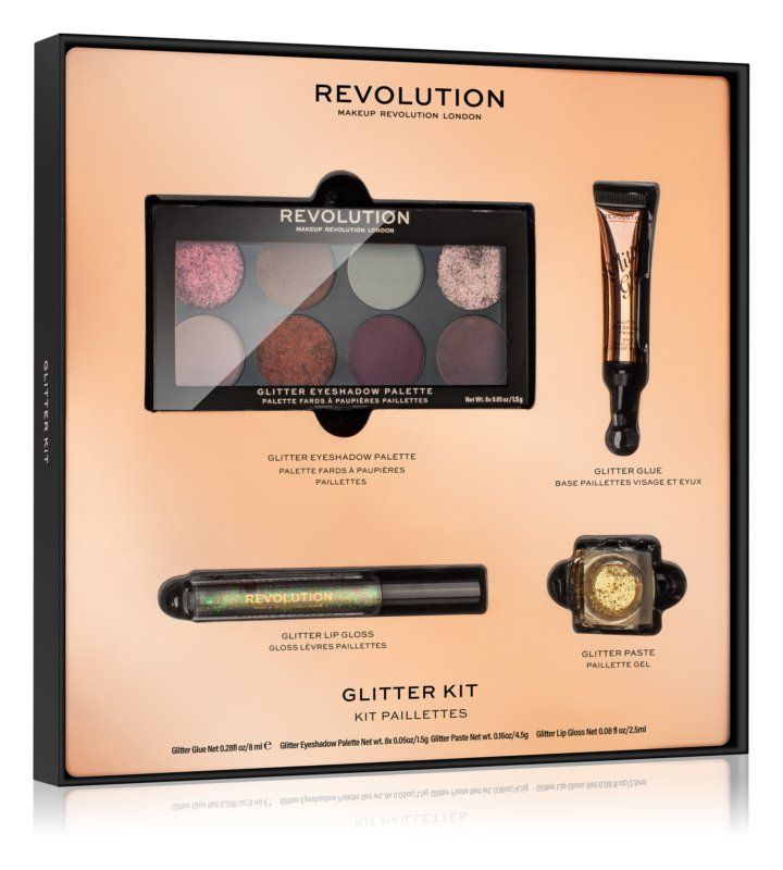Glitter Kit de la Makeup Revolution