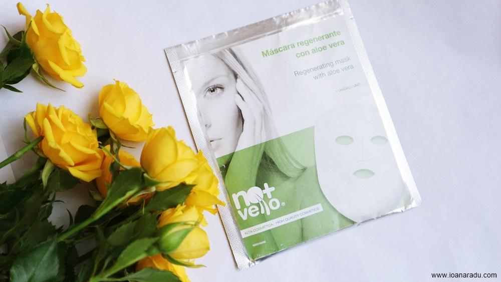 Mască hidratantă cu Aloe Vera
