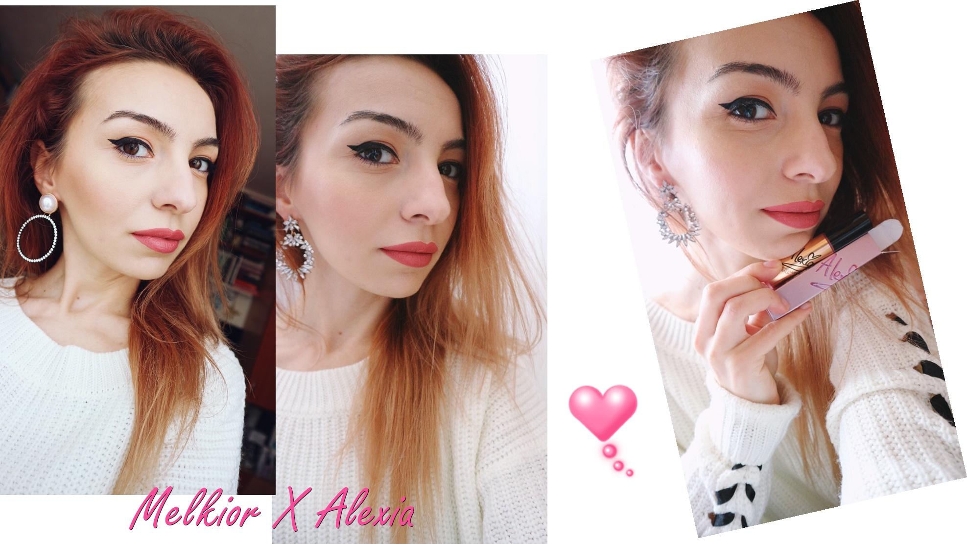 Melkior X Alexia Eram lipstick swatch by Ioana Radu