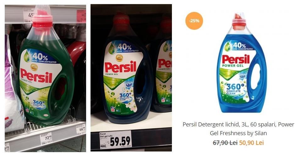 detergent de rufe lichid Persil