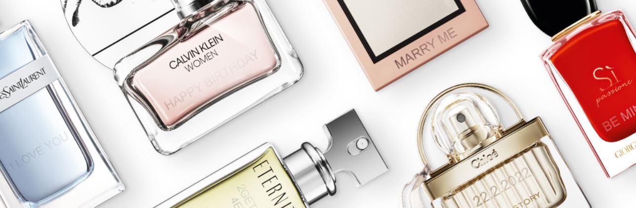 gravare parfumuri Notino