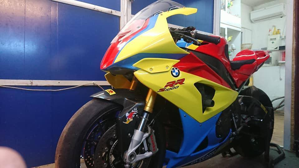 SAI88 Olteanu Garage motocicleta BMW