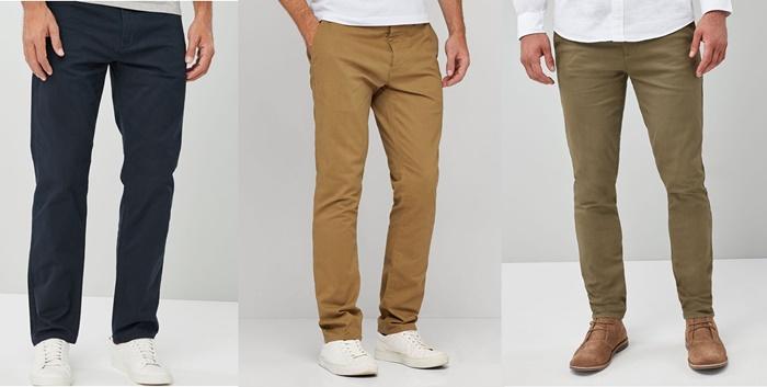 pantaloni casual eleganti