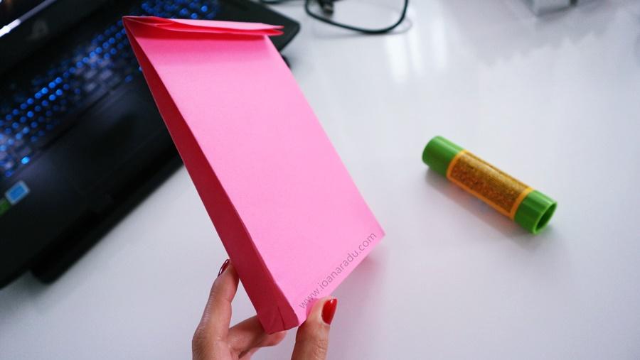 Cum să faci plicuri 3D din hârtie pas cu pas