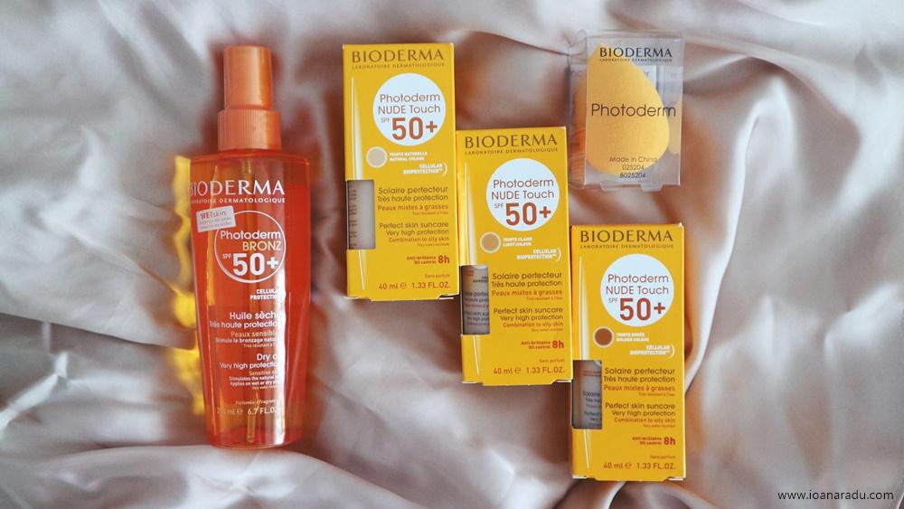 Momente sub soare cu Bioderma + cum am ajuns să iubesc produsele din gama Photoderm | review Bioderma Photoderm