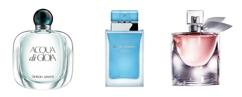 acqua di gioia light blue eau intense la vie est belle