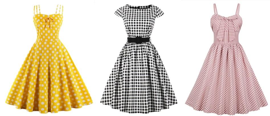 1950 dresses rochii vintage