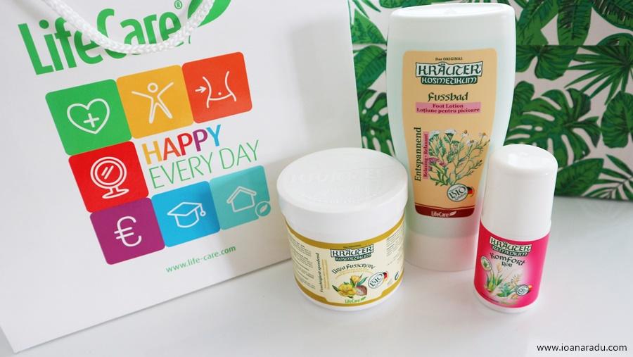 3 produse cu plante BIO pentru relaxarea picioarelor