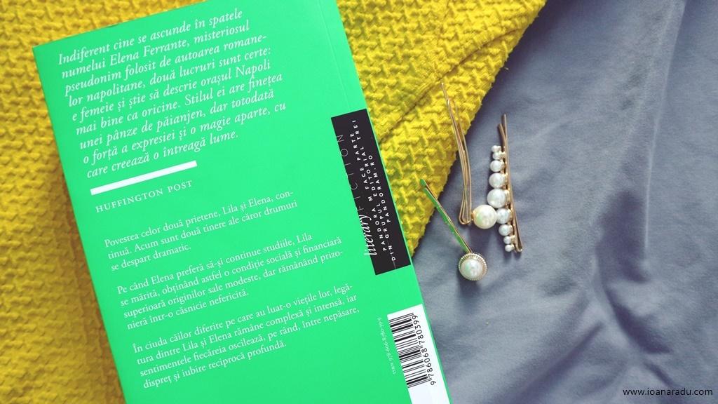 Povestea noului nume Elena Ferrante tetralogia napolitana recenzie