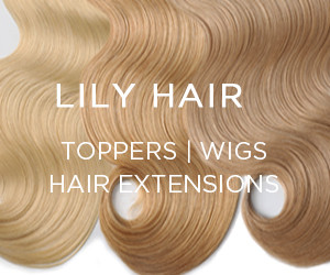 Lilyhair toppers wigs hair extentions
