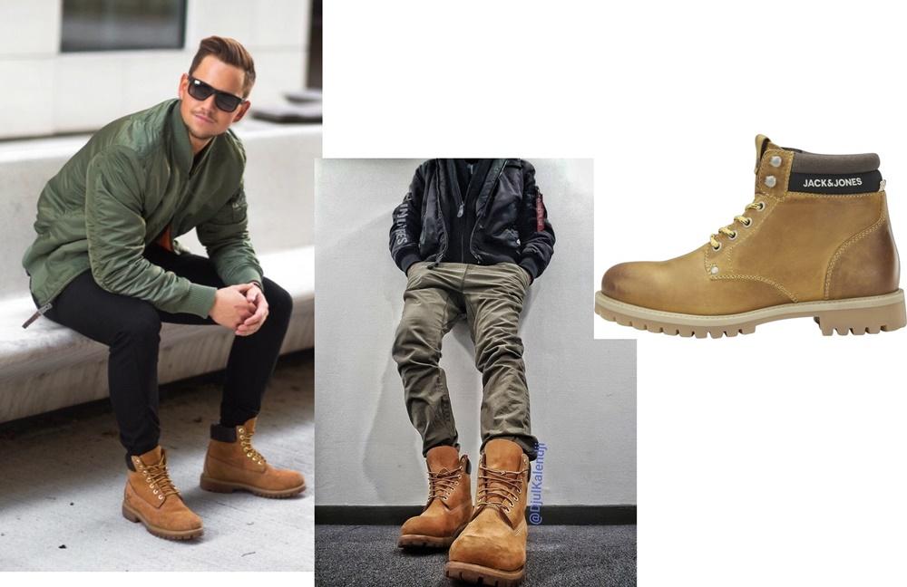 casual boots - stil masculin de oras