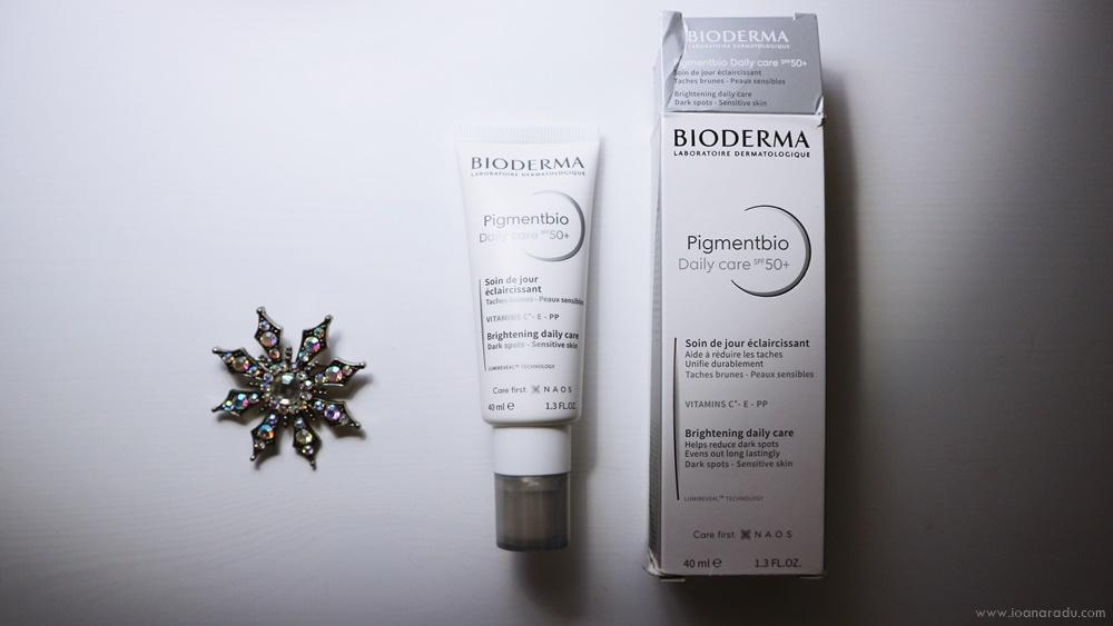 Bioderma Pigmentbio cremă de zi SPF 50+