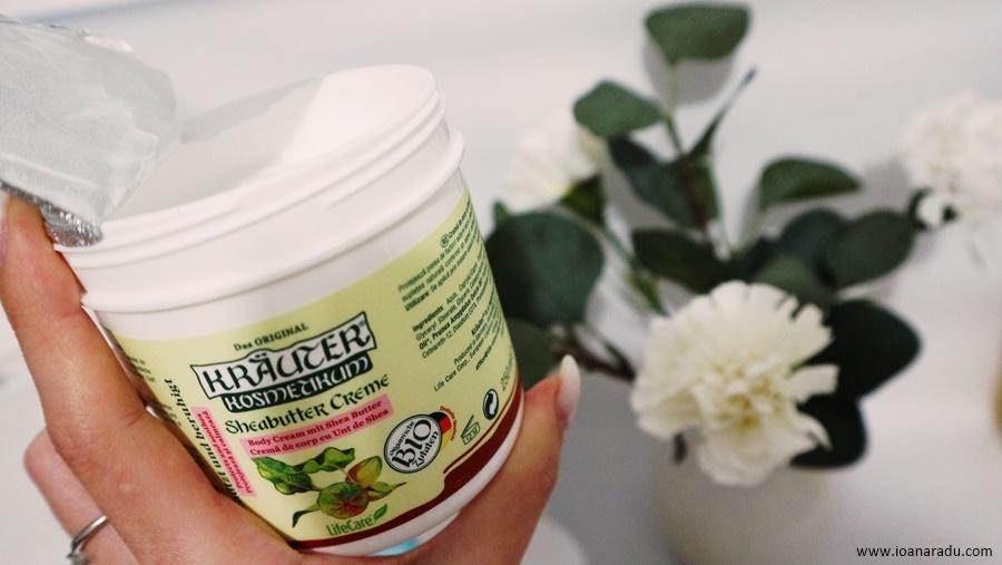 crema de corp calmanta cu unt de Shea si plante BIO Kräuter® review
