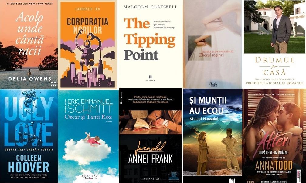 Top 10 cărți de citit în 2020