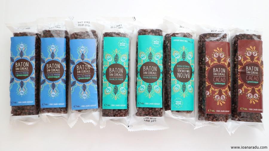 batoane de cereale cu cacao calciu magneziu Sweeteria