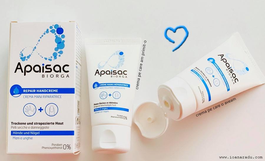 biorga apaisac crema de maini dermatocosmetica