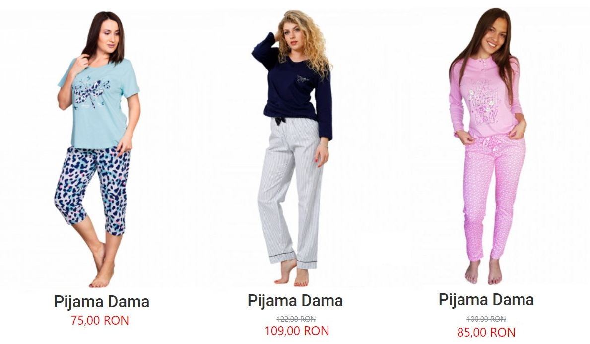 pijamale lady line