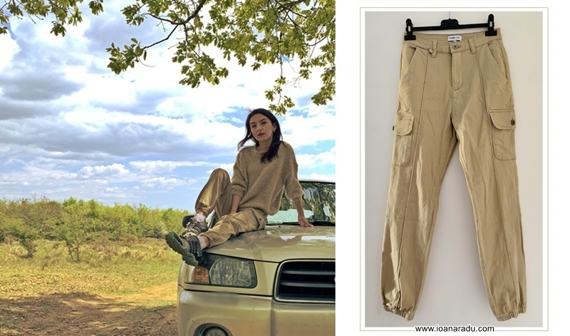 Stone Cargo Slim Fit Trouser Femme Luxe Finery review