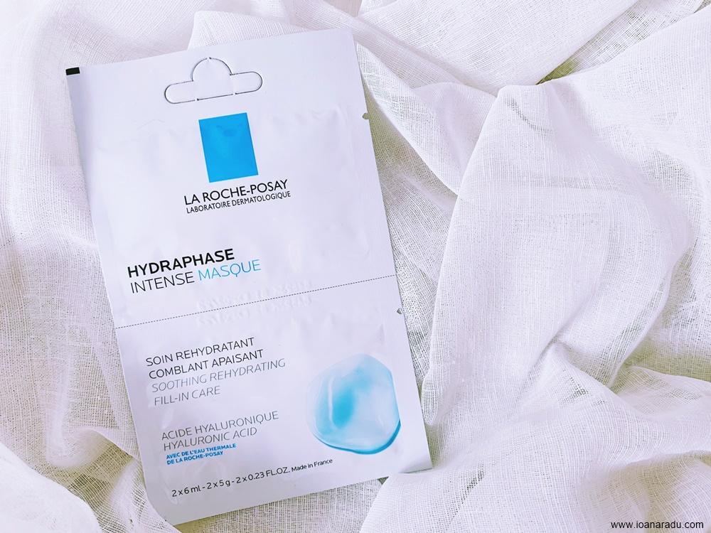 Masca intens hidratanta La Roche-Posay Hydraphase cu acid hialuronic