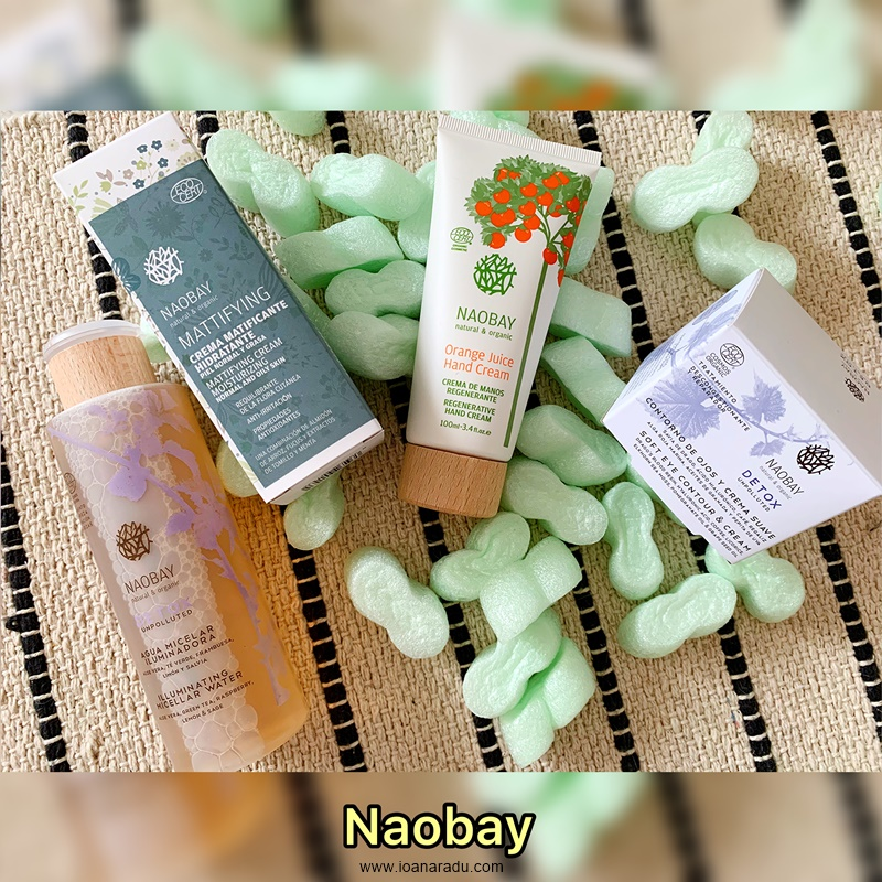 review 4 produse cosmetice naturale Naobay