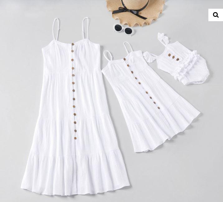 rochii mamă-fiică famfam rochii albe