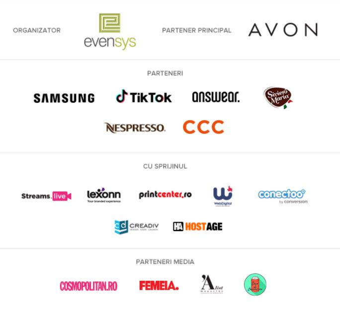 parteneri si organizator Digital Divas 2020