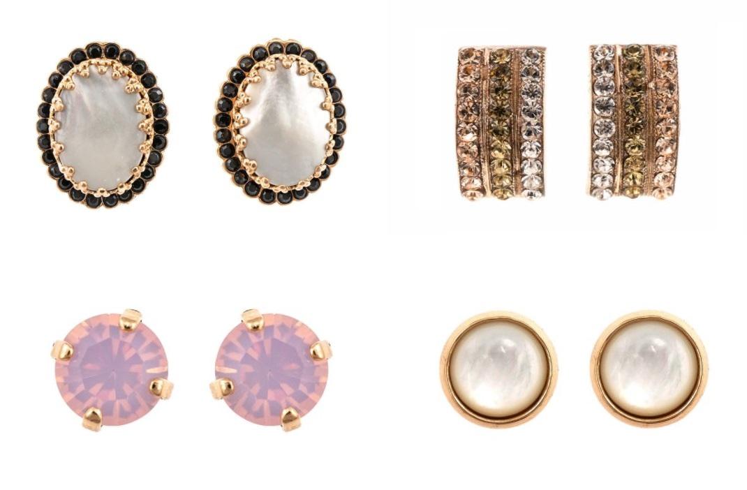 cercei finuti cu surub bijuterii de designer roxannes