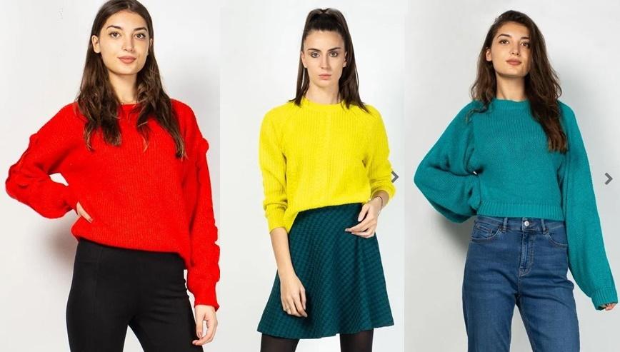 pulovere colorate toamna iarna 2020 2021