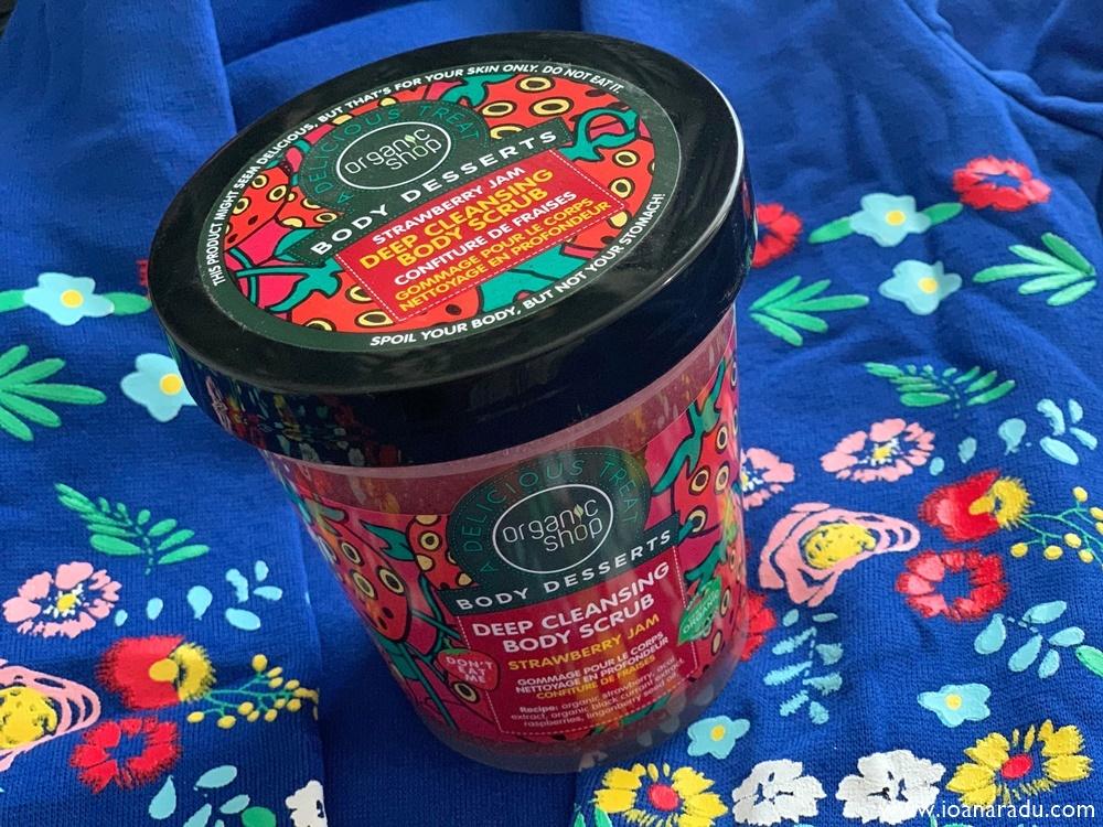 Organic Shop body desserts body scrub exfoliant de corp