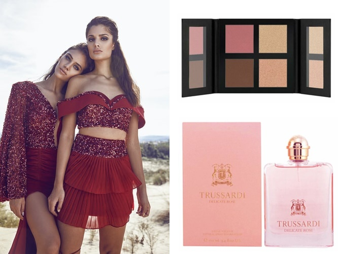 red outfits makeup Catrice